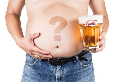 Afinal, cerveja dá barriga ou não?